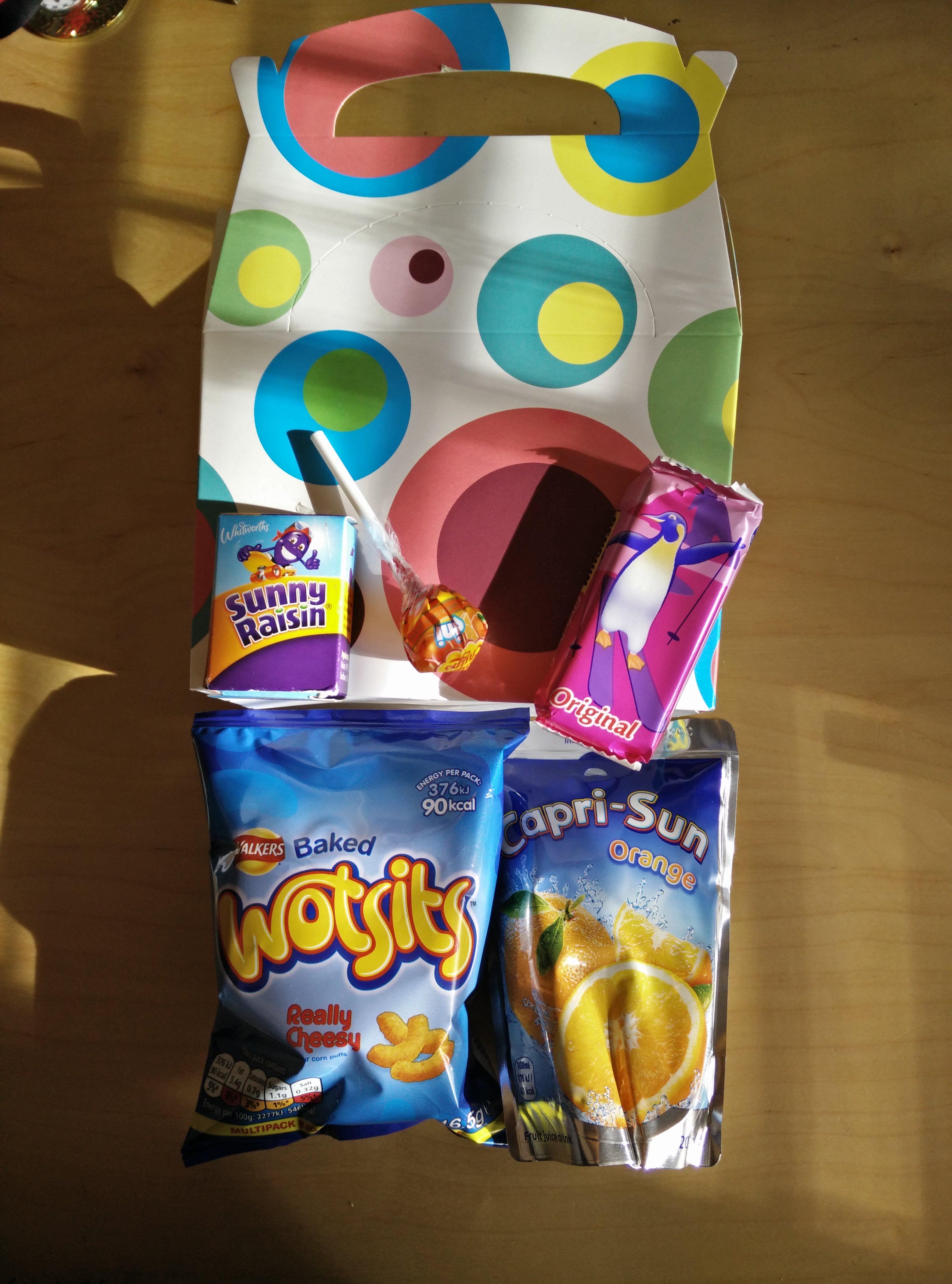 Kids N Karts Party Food Boxes